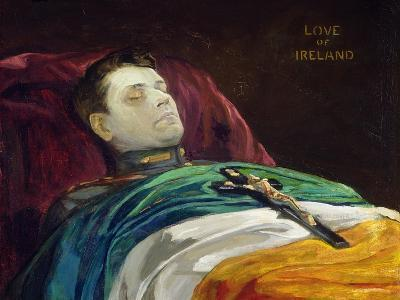 Michael Collins (Love of Ireland), 1922-Sir John Lavery-Giclee Print