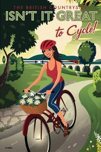 The British Countryside, Isn't It Great to Cycle! by Michael Crampton