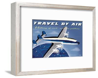 Travel By Air, History of Civil Aviation Posters