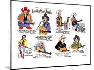 Country Music Awards - New Yorker Cartoon by Michael Crawford