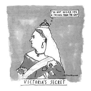 VICTORIA'S SECRET - New Yorker Cartoon by Michael Crawford