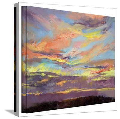 Michael Creese 'Atahualpa Sunset' Gallery-Wrapped Canvas-Michael Creese-Gallery Wrapped Canvas