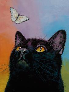 Black Cat Butterfly by Michael Creese