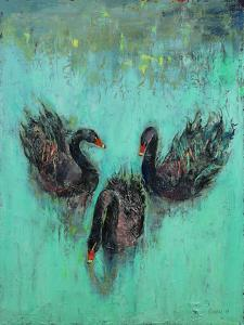 Black Swans by Michael Creese