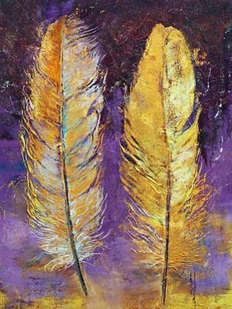 Gold Feathers by Michael Creese