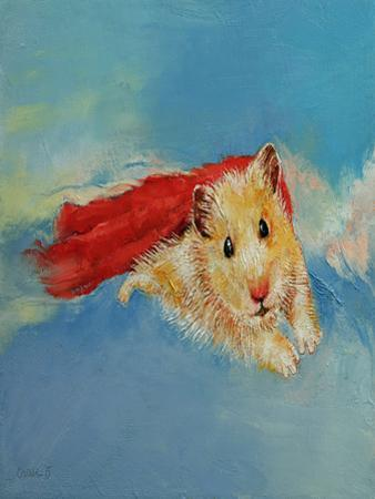 Hamster Superhero by Michael Creese