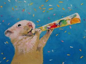 Happy Hamster New Year by Michael Creese