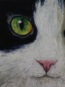 Japanese Bobtail Cat by Michael Creese