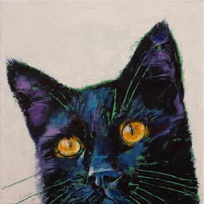 Killer Black Cat by Michael Creese