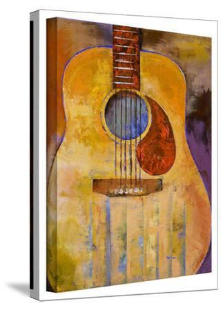Michael Creese 'Acoustic Guitar' Gallery-Wrapped Canvas by Michael Creese