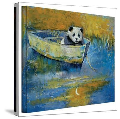 Michael Creese 'Panda Sailor' Gallery-Wrapped Canvas by Michael Creese