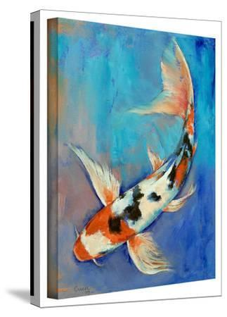 Michael Creese Sanke Butterfly Koi Gallery-Wrapped Canvas by Michael Creese