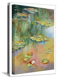 Michael Creese 'Water Lily' Gallery-Wrapped Canvas by Michael Creese