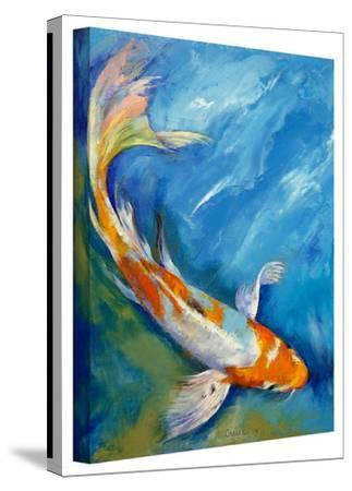 Michael Creese 'Yamato Nishiki Koi' Gallery-Wrapped Canvas by Michael Creese