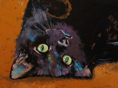Upside Down Kitten by Michael Creese