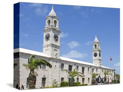 Clock Tower (Mall) at the Royal Naval Dockyard, Bermuda, Central America