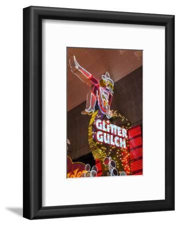 Cowgirl Glitter Gulch Neon Sign