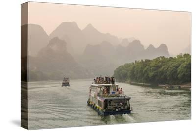 Cruising on the Li River, Guilin, China