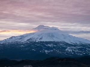 Dawn at Mount Shasta, California, USA by Michael DeFreitas