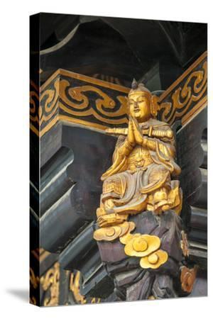 Decorative Details at the Wild Goose Pagoda, Xian, China