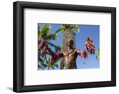 Duke Paoa Kahanamoku, Waikiki Beach, Honolulu, Oahu, Hawaii