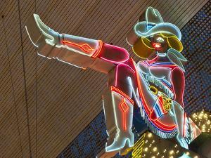 Glitter Gulch Casino and Fremont Street Experience, Las Vegas, Nevada, USA, North America by Michael DeFreitas