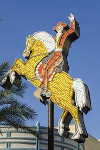 Hacienda Horse and Rider Neon Was Originally Installed at the Hacienda Hotel Hotel in 1967 by Michael DeFreitas