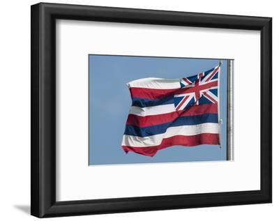 Hawaiian State Flag, Oahu, Hawaii