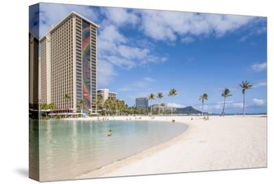 Hilton Lagoon, Waikiki Beach, Waikiki, Honolulu, Oahu, Hawaii