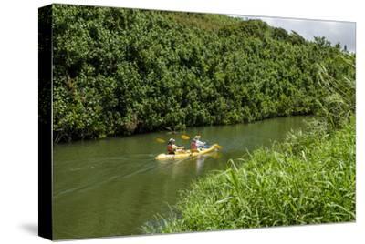 Kayaking on the Wailua River, Kauai, Hawaii, United States of America, Pacific