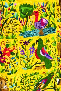 Local Outdoor Market Textiles, Chichicastenango, Guatemala by Michael DeFreitas