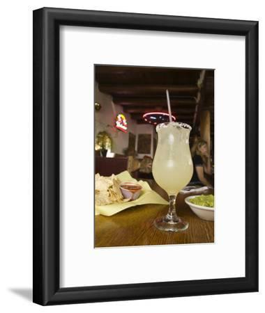 Margarita and Nachos at Maria's Bar and Restaurant, Santa Fe, New Mexico
