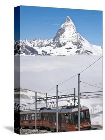 Matterhorn and Gornergrat Cog Wheel Railway, Gornergrat, Switzerland, Europe