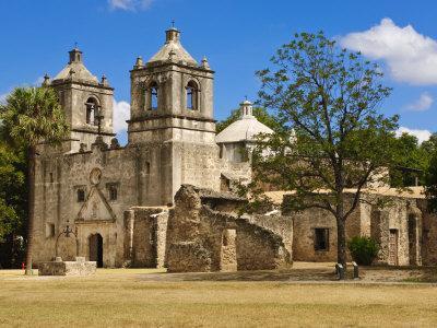 Mission Concepcion, San Antonio, Texas, United States of America, North America