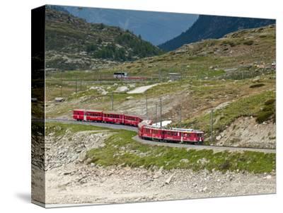 Mountain Railway, Bernina Pass, Switzerland, Europe