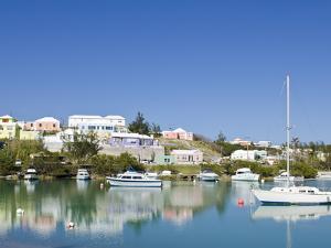 Mullet Bay in St. George'S, Bermuda, Central America by Michael DeFreitas