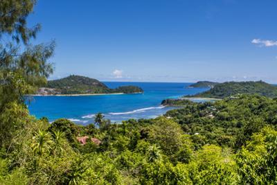 Northwest coast of Mahe, Republic of Seychelles, Indian Ocean. by Michael DeFreitas