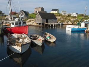 Peggy's Cove, Nova Scotia, Canada, North America by Michael DeFreitas