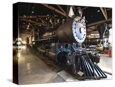 Steam Locomotive, Nevada State Railroad Museum, Carson City, Nevada, USA, North America