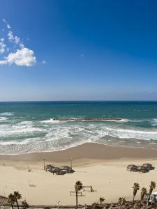 Tel Aviv Beach, Israel, Middle East by Michael DeFreitas