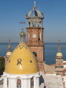 The Lady of Guadalupe Church, Puerto Vallarta, Jalisco, Mexico, North America by Michael DeFreitas