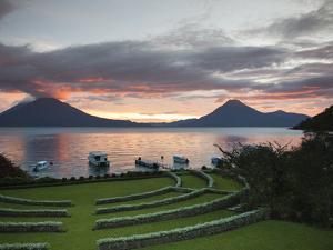 Toliman Volcano, Lago de Atitlan, Guatemala, Central America by Michael DeFreitas