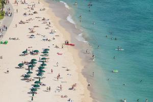 Waikiki Beach, Waikiki, Honolulu, Oahu, Hawaii, United States of America, Pacific by Michael DeFreitas