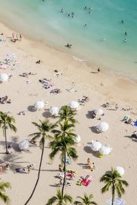 Waikiki Beach, Waikiki, Honolulu, Oahu, Hawaii, United States of America, Pacific by Michael DeFreitas