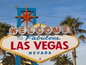 Welcome to Las Vegas Sign, Las Vegas, Nevada, United States of America, North America by Michael DeFreitas