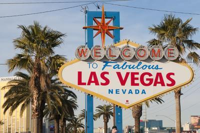 Welcome to Las Vegas Sign, Las Vegas, Nevada, USA