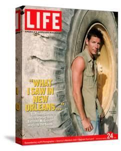 Extreme Makeover Host Ty Pennington on Location in post-Katrina Ravaged South, March 24, 2006 by Michael Edwards