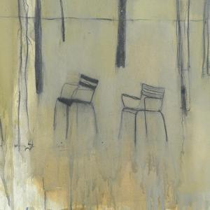 Chairs, Jardin des Tuileries, 2015 by Michael G. Clark
