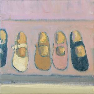 Girls shoes, 2017 by Michael G. Clark