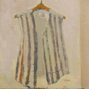 Italian silk waistcoat, 2017 by Michael G. Clark